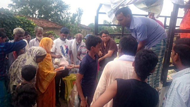 Flood Relief Distribution