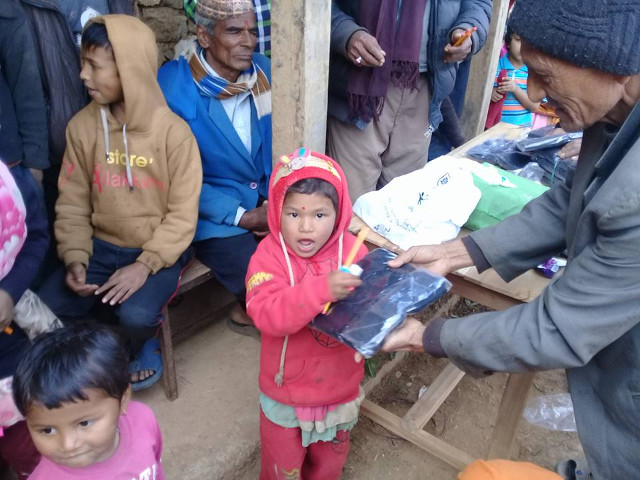 Warm Clothes Distribution